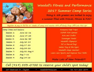 Woodall's Summer Camp! @ Woodall's Fitness and Performance | Clayton | North Carolina | United States