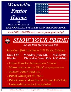 Patriot Games!! @ Woodall's Fitness and Performance | Clayton | North Carolina | United States